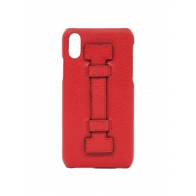 COVER FINGERS LEATHER ALL RED
