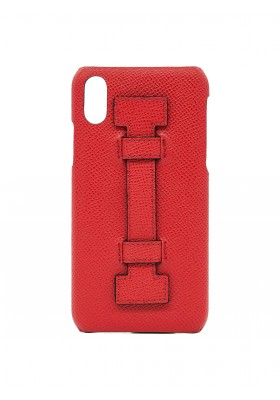 CASE FINGERS LEATHER ALL RED