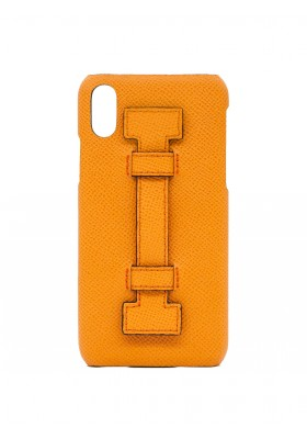 CASE FINGERS LEATHER ALL ORANGE