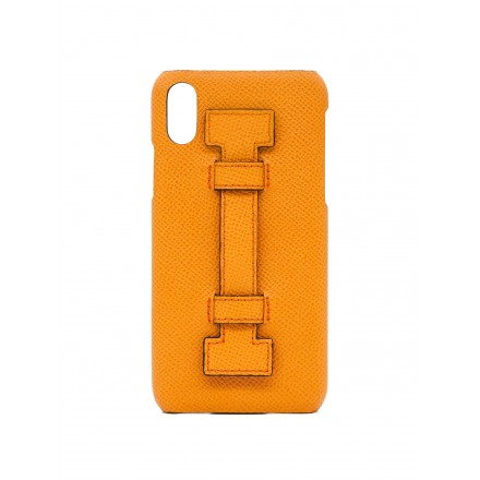 COVER FINGERS LEATHER ALL ORANGE