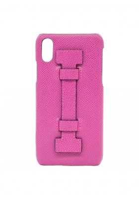 CASE FINGERS LEATHER ALL FUCSIA