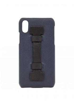 CASE FINGERS LEATHER BLUE/BLACK