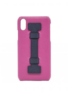 CASE FINGERS LEATHER FUCSIA/PURPLE