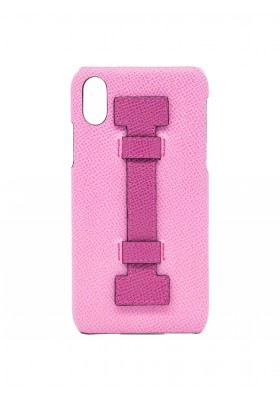 CASE FINGERS LEATHER PINK/FUCSIA