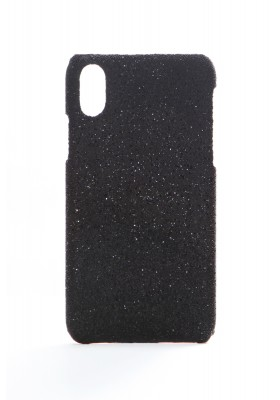 Cover Crystal Fabric Black