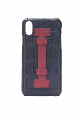 Cover Fingers Croco Black/Red