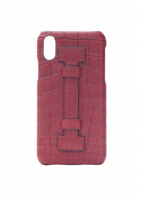 Cover Fingers Croco Red/Red