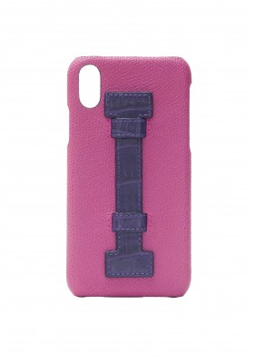 Cover Fingers Leather Fucsia/Croco Purple