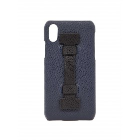 COVER FINGERS LEATHER BLUE/BLACK
