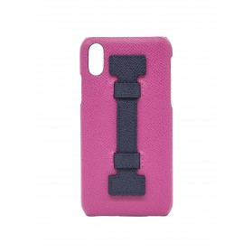 COVER FINGERS LEATHER FUCSIA/PURPLE