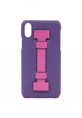 COVER FINGERS LEATHER PURPLE/FUCSIA