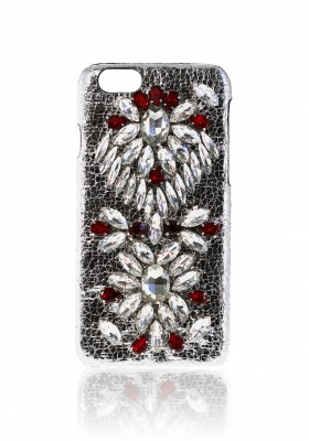 Cover Embroidery Crystal Ruby