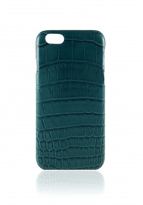 Case Croco Green Petrol