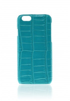 Cover Croco Turquoise