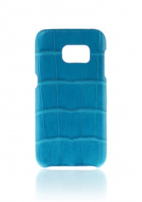 Cover Croco Aqua Blue