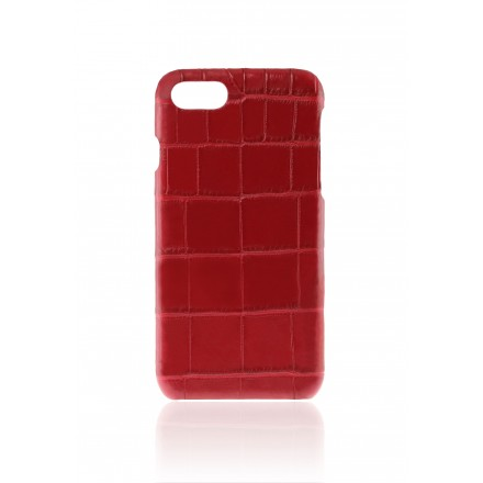 Cover Croco Rouge Vif