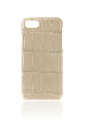 cover croco beige iPhone 7