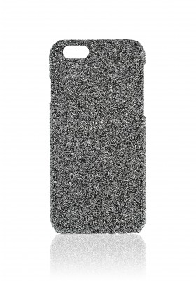 Case Crystal Fabric Silver