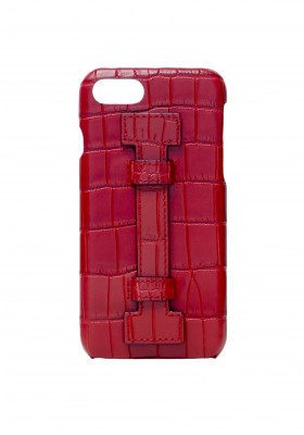 Case Fingers Croco Red/Red