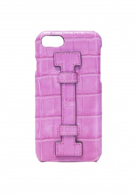 Cover Fingers Croco Fucsia/Fucsia