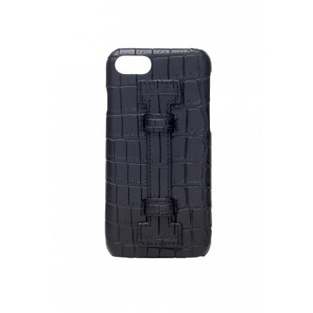 Cover Fingers Croco Black/Black