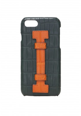 Cover Fingers Croco Green/Orange