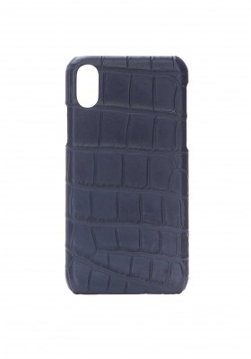 Case Croco Blue