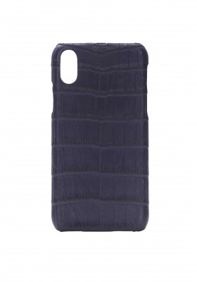 Case Croco Dark Violet