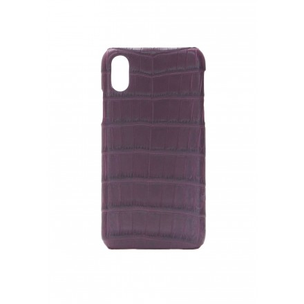 Cover Croco Bordeaux