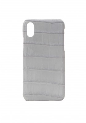 Case Croco Gris Clair